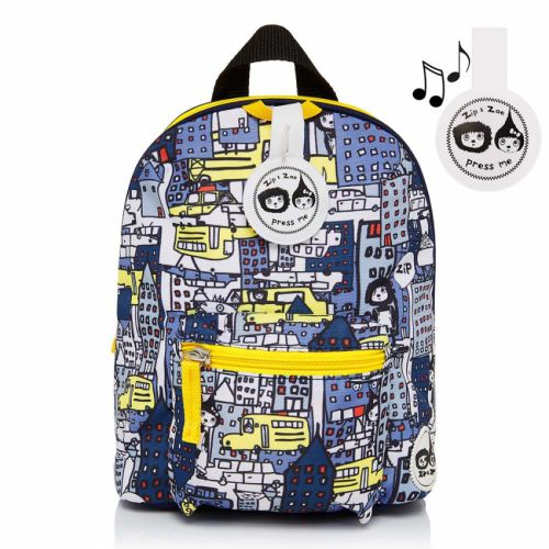 Mini Backpack City Print